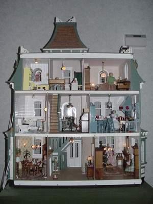Poppenhuis for Poppenhuis te koop