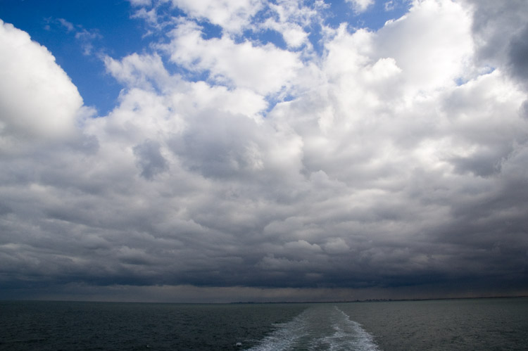 Crossing the Channel from Dunkerque to Dover (GB) 19-10-2007)