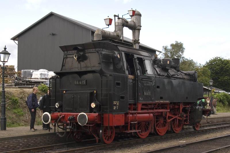 VSM br 64 in Beekbergen,   (07-09-2008)